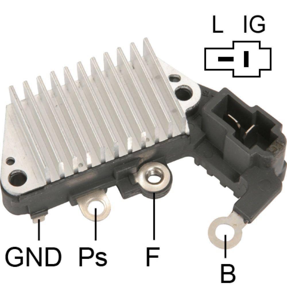 126000-1160 126000-0760 New Voltage Regulator 126000-0600 IN254