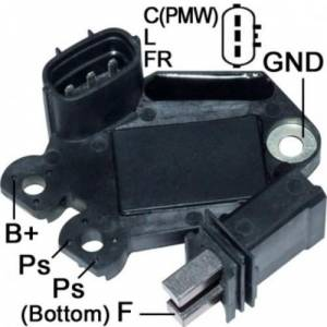 Transpo - Voltage Regulator for Alt Valeo Hyundai ,Kia 10-16 Lester 11491, 11492, 11493, 11606