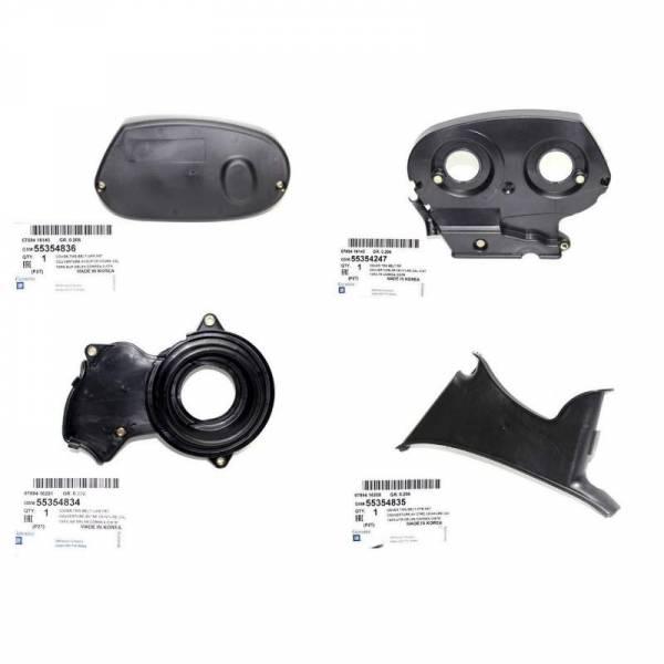 GM - New OEM Timing Belt Covers Kit for Chevy Chevrolet Cruze Part: 55354247 KIT