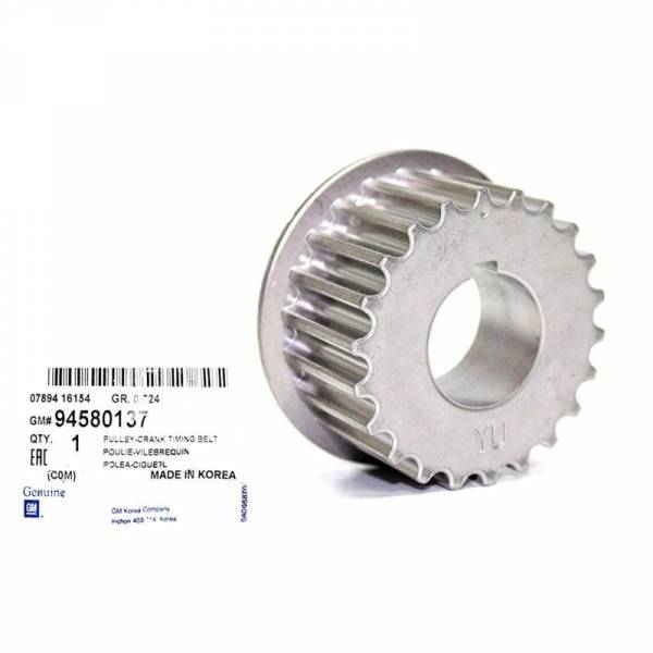 GM - New OEM Pulley Crank Timing for Chevy Chevrolet Spark ( 2005-2012 )