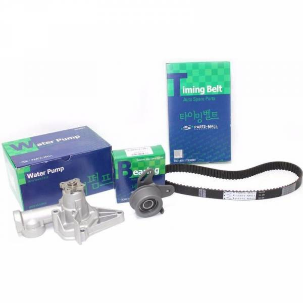 Korean Parts - New OEM Timing belt KIT ACCENT 1.5 Includes Water Pump 95182241