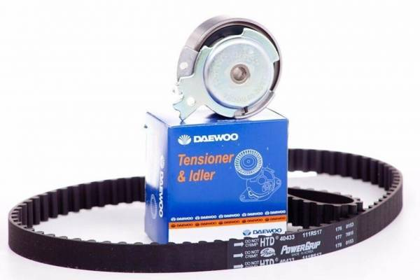 Korean Parts - New OEM Timing Belt Kit for Chevy Chevrolet Corsa Daewoo Cielo Lanos - 95182236