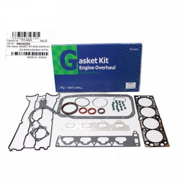 Korean Parts - New OEM Gasket Set Kit for Chevy Optra Design Part: 93742703