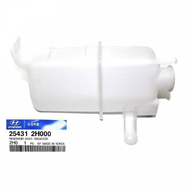 MOBIS - New  Engine Coolant Recovery Tank Fits 07-10 Hyundai Elantra 2.0L