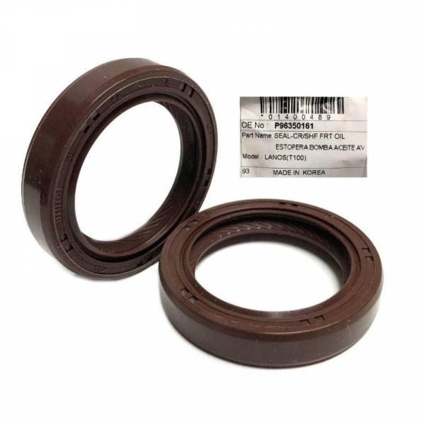 Korean Parts - New OEM Oil Pump Seal for Gm Chevy Chevrolet Aveo Part: 96350161G