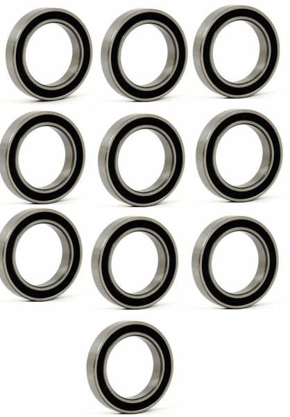 DTS - New Set of 10 Alternator Bearing Hitachi 25mm ID x 42mm OD x 9mm W 6905
