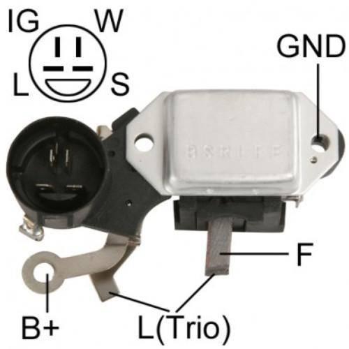 Transpo - New Alternator Regulator for HITACHI W/ PUMP ISUZU 12V - IH254