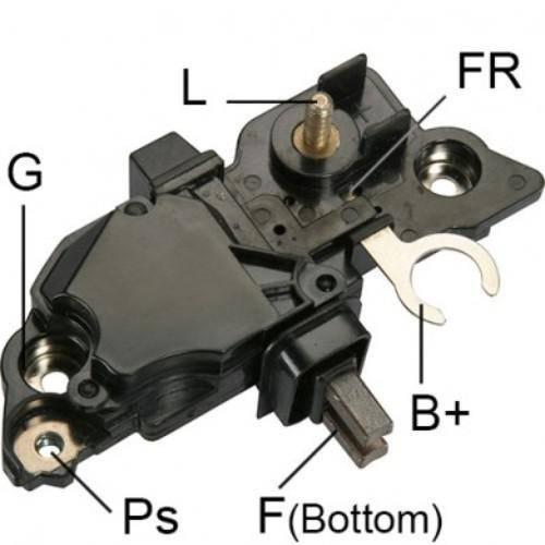 Transpo - New Alternator Regulator for JOHN DEERE 12V BOSCH - IB313