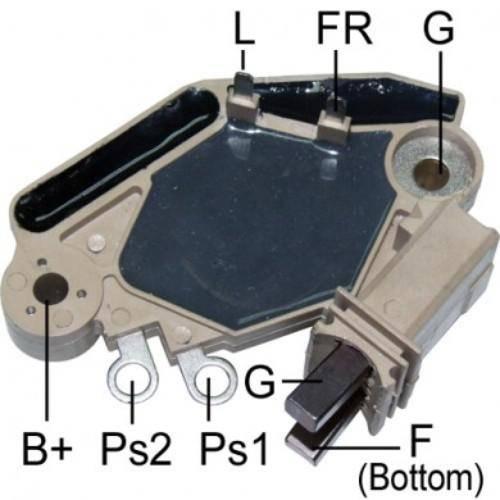 Transpo - New Alternator Regulator for VALEO CITROEN 96-14 Y PEUGEOT 01-10 - M564