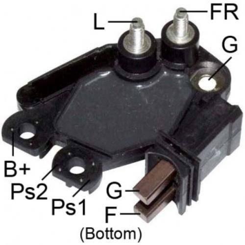 Transpo - New Alternator Regulator for PEUGOT 206 VALEO - M562