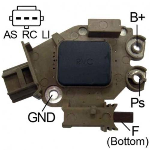 Transpo - New Alternator Regulator for FORD ECOSPORT Y FOCUS 2.0 - M566