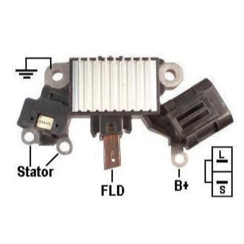 Transpo - New Alternator Regulator for NISSAN SENTRA D-MAX FRONTIER - IH738
