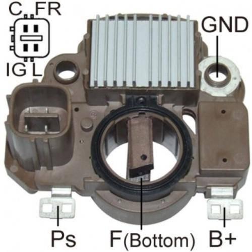 Transpo - New Alternator Regulator for HONDA CIVIC L4 1.6L  - IM853