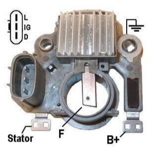 Transpo - New Alternator Regulator for CHEV VITARA 2LTS 99, 2002 - IM381