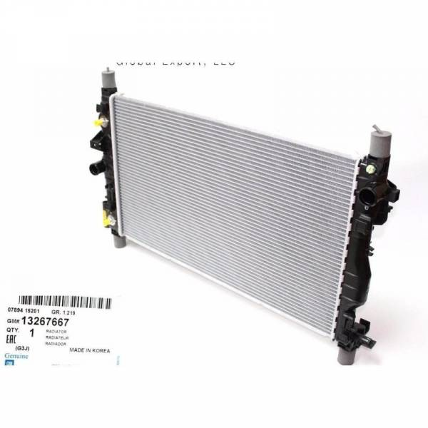 GM - New OEM Radiator for Chevy Chevrolet orlando Part: 13267667