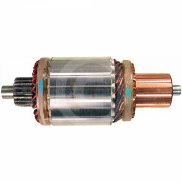 DTS - New Starter Armature For 39Mt 24V 20 Splines - 61-152