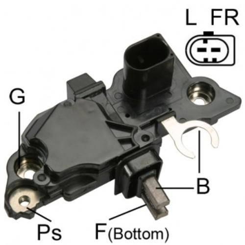Transpo - New Alternator Regulator for BOSCH MERCEDES 12V 180 AMP - IB247