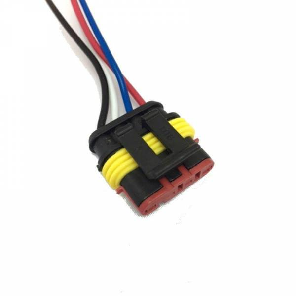DTS - New Harness Connector Pigtail for Fuel Pump Ignition and Speed Sensor for Fiat