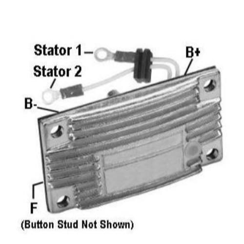 Transpo - New Alternator Regulator for L.N 290AMP TRUCK SPARTAN 12V - L99920