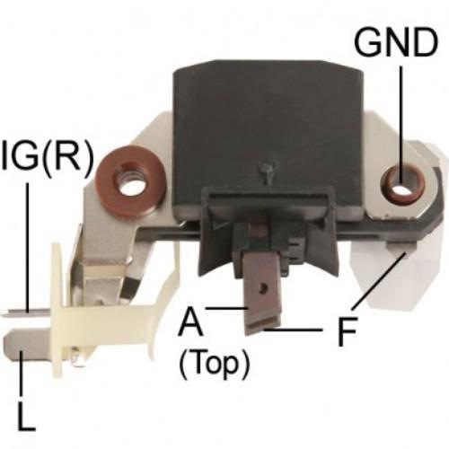 Transpo - New Alternator Regulator for CANTER 24V - IM213