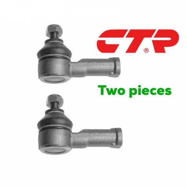 CTR - New Front Left & Right Outer Tie Rod Ends Kit For 94-97 Ford Aspire Kia Picanto