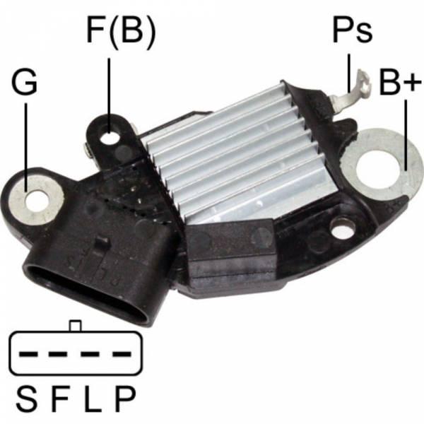 Transpo - New Alternator Regulator for TRAILBLAZER 4.2L 2006 8497 - D3579