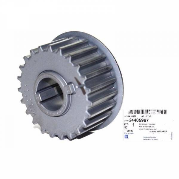 GM - New OEM GM Crankshaft Crank Gear 24405967