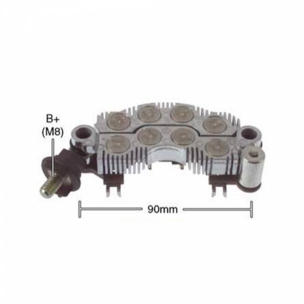 Transpo - New Alternator Rectifier for HYUNDAI SONATA 8 DIODOS 90MM - IYR9016