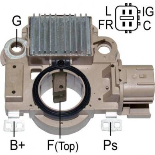 Transpo - New Alternator Regulator for HONDA CIVIC 2006, 2009 1.8 80AMP 11176 - IM558
