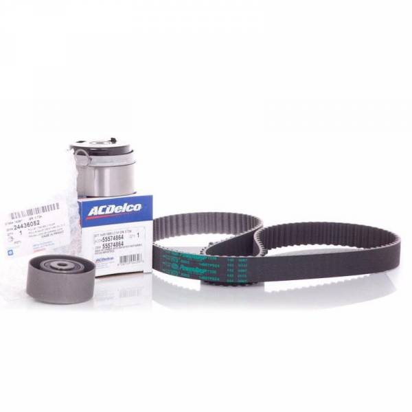 Korean Parts - New OEM Timing Belt Kit Chevrolet Cruze Sonic Includes: 1 Water Pump Daewoo
