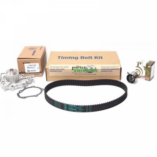 Korean Parts - New OEM Timing Belt Kit Chevrolet Spark 95182233 1 Water Pump 96666219