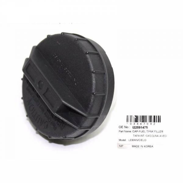 Korean Parts - New OEM Screw On Gas Fuel Cap Fits Many Makes & Models GM 22591475, 22591476