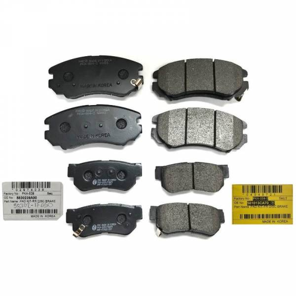 AC DELCO - New OEM ACDelco 14D1092CH Front Ceramic Brake Pads