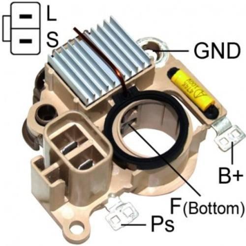 Regitar - New Alternator Regulator for MITS MONTERO Y SPORT 00-97 - VRH2009-108