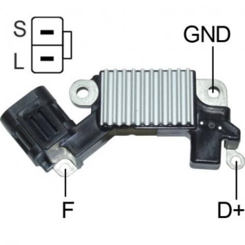 Transpo - New Alternator Regulator for HYUNDAI, KIA 12V - IH711