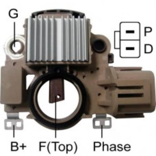 Transpo - New Alternator Regulator for MAZDA 6 - IM465