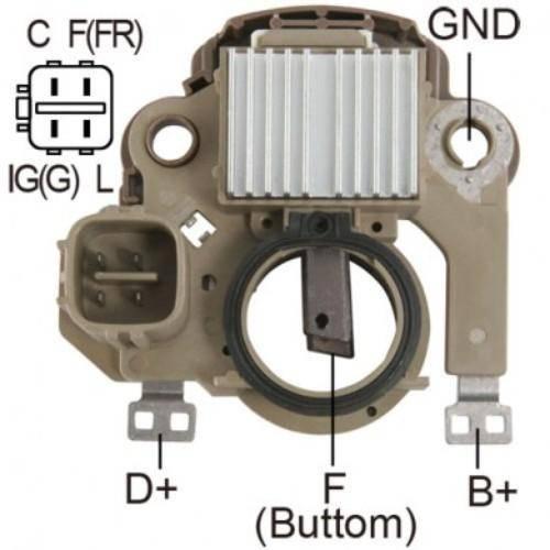 Transpo - New Alternator Regulator for HONDA CIVIC L4 96-2001 - IM850