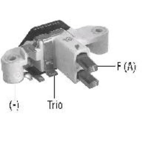 Transpo - New Alternator Regulator for CORSA, GOLF, JETTA C, BOSHH 130AMP - IB385