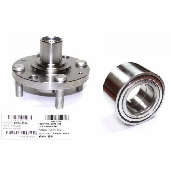 Korean Parts - New Wheel Hub & bearing Fits 04-11 Chevrolet Aveo Aveo5 Spark Pontiac Wave G3