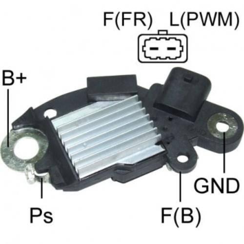 Transpo - New Alternator Regulator for SILVERADO 2 PIN 2006, 2008 - D3587