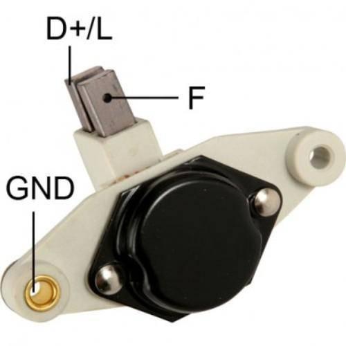 Transpo - New Alternator Regulator for BOSCH K-1 C, (BLAZER 95, 96) - IB356-1