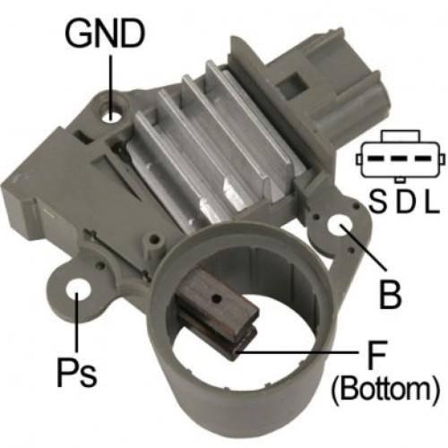 Transpo - New Alternator Regulator for FORD 6G EXPLORE VP3C3U-10C359-AA - F605