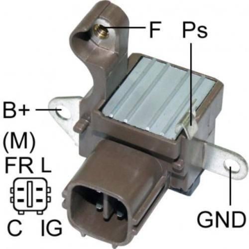 Transpo - New Alternator Regulator for HONDA 4 PIN - IN6004