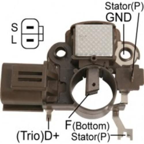 Regitar - New Alternator Regulator for MAZDA 323 93 - VRH2009-7