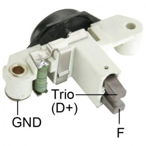 Transpo - New Alternator Regulator for BOSCH 12V VOLVO - IB384