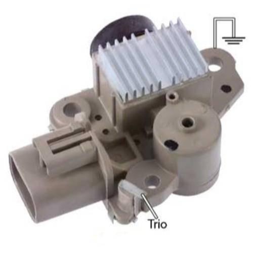 Transpo - New Alternator Regulator for KIA SEPHIA 1.8L 98, 2000 - IY094