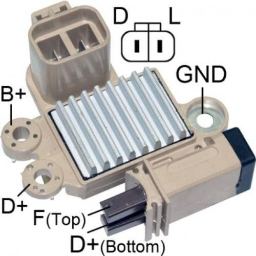 Transpo - New Alternator Regulator for GETZ ACCENT ELANTRA TUCSON KIA - M532