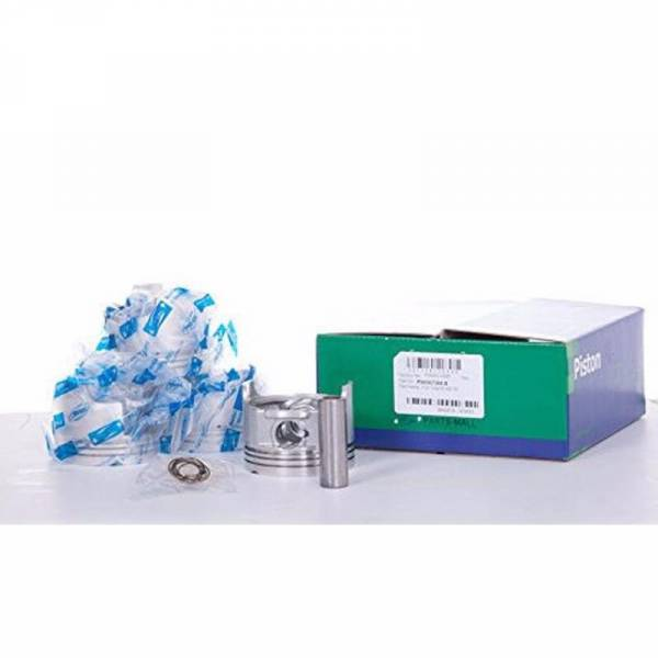 Korean Parts - New OEM Piston Set Kit for Chevy Chevrolet Gm Spark 0.20 Part: 96567384s