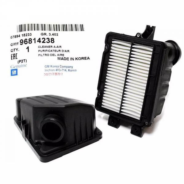 GM - New OEM GENUINE fits 04 08 Chevrolet Aveo Air Cleaner Filter Box OEM 96814238