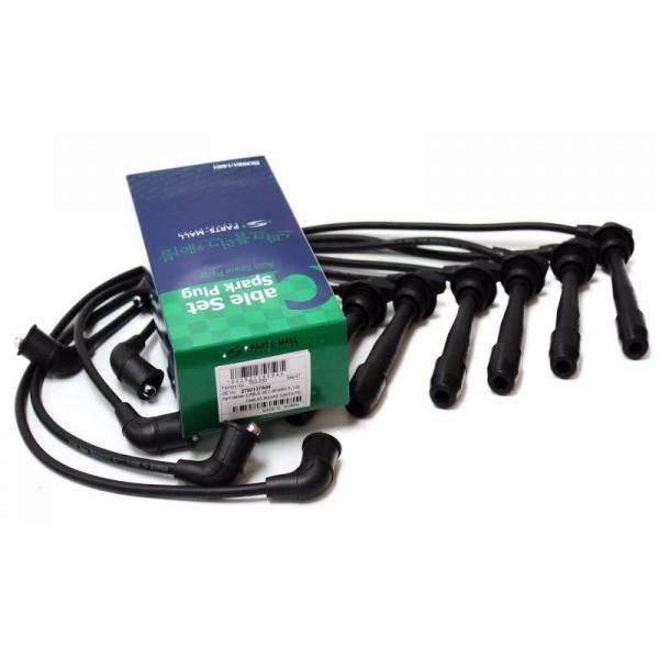 Korean Parts - New OEM Spark Plug Cable Set for 1999-06 Sonata Optima 2.5L 2.7L OEM 27501-37A00